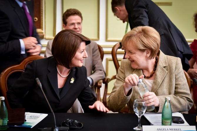 Jahjaga: Kosovo's main objective is EU accession