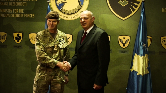 NATO reconfirms its support for KSF