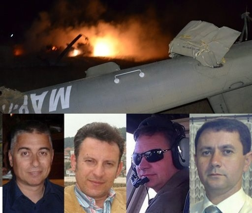 Day of mourning in FYROM for the death of four pilots
