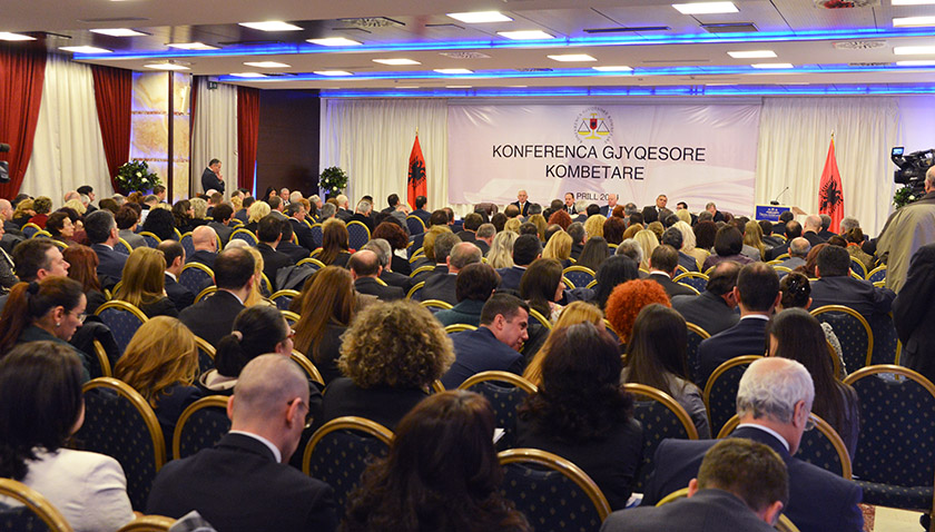 It's urgent to preserve independence, declare judges in Albania