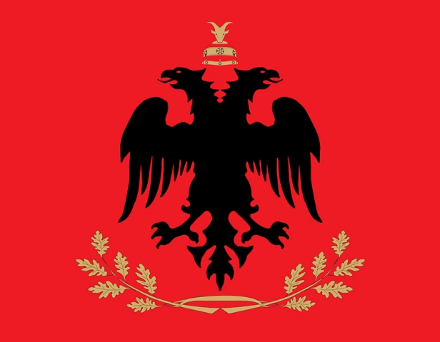Albanian presidency with a new flag and logo