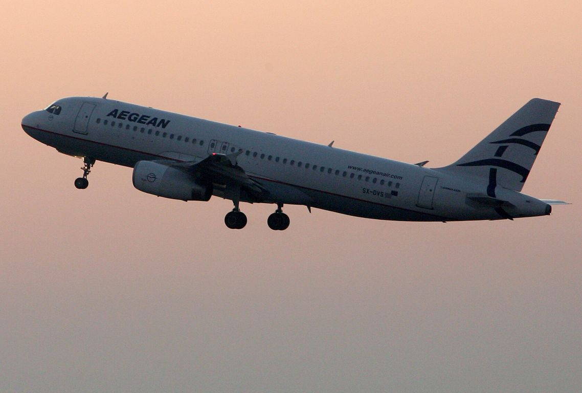 Passenger record for Aegean last June