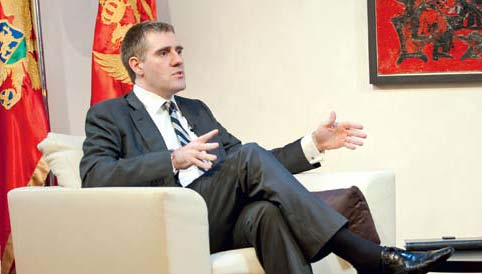 IBNA/Interview with Igor Luksic Deputy Prime Minister and Minister of Foreign Affairs of Montenegro