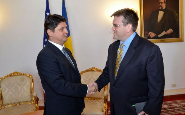 Romania receives new US chief of mission