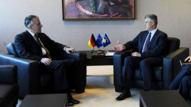 Germany is determined to help Kosovo