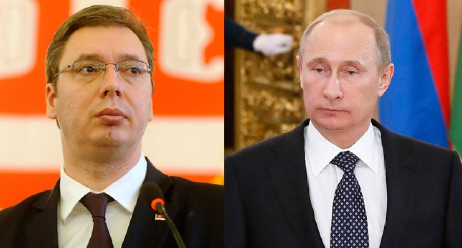 Putin: 'We are following the political situation in Serbia'