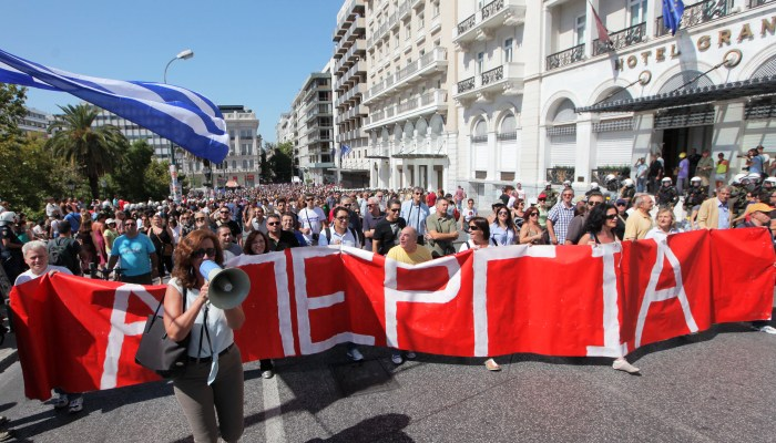 Greek government considering changes to the legal framework of strikes