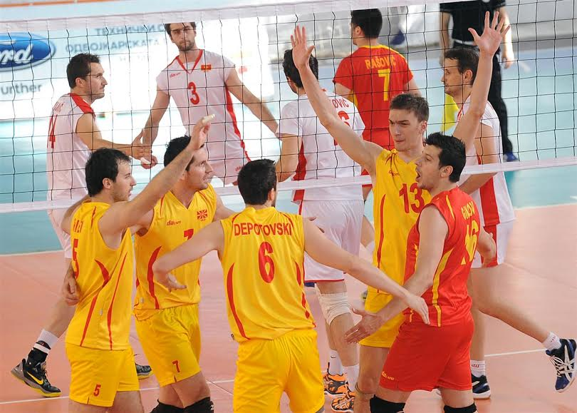 FYROM's volleyball team continues its winning streak