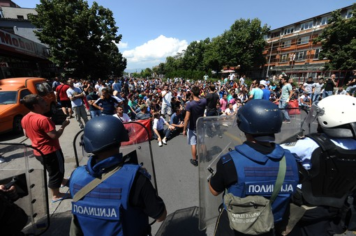 FYROM hit by protests from ethnic Albanians