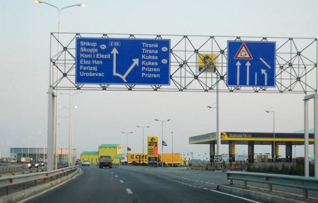 Pristina builds the highway, Skopje doesn't see any priorities