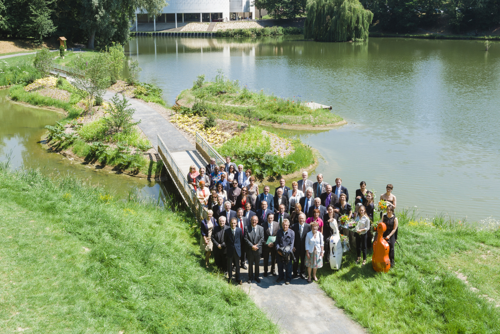 More than 30 countries in Péronne commemorate the centenary of the Great War
