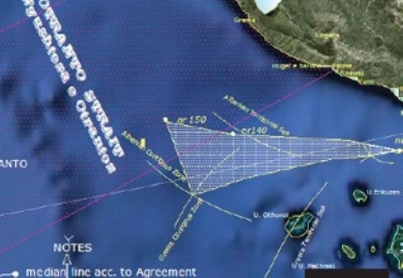 Fresh debates on sea borders between Albania and Greece
