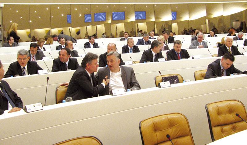 Parliament voting saved Zlatko Lagumdzija's position as BiH FM