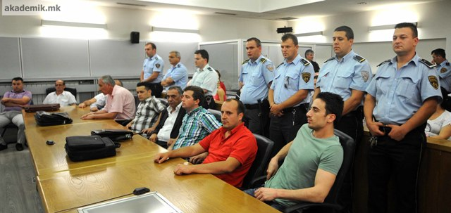 Conviction of six Albanians with life sentences increases tensions in FYROM