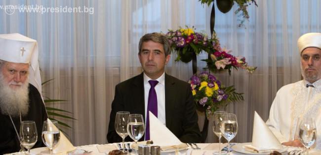 Bulgarian President hosts Iftar dinner, underlines religious tolerance