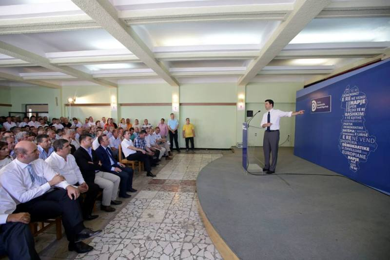 New heads of DP in Albania unveil their platforms for development