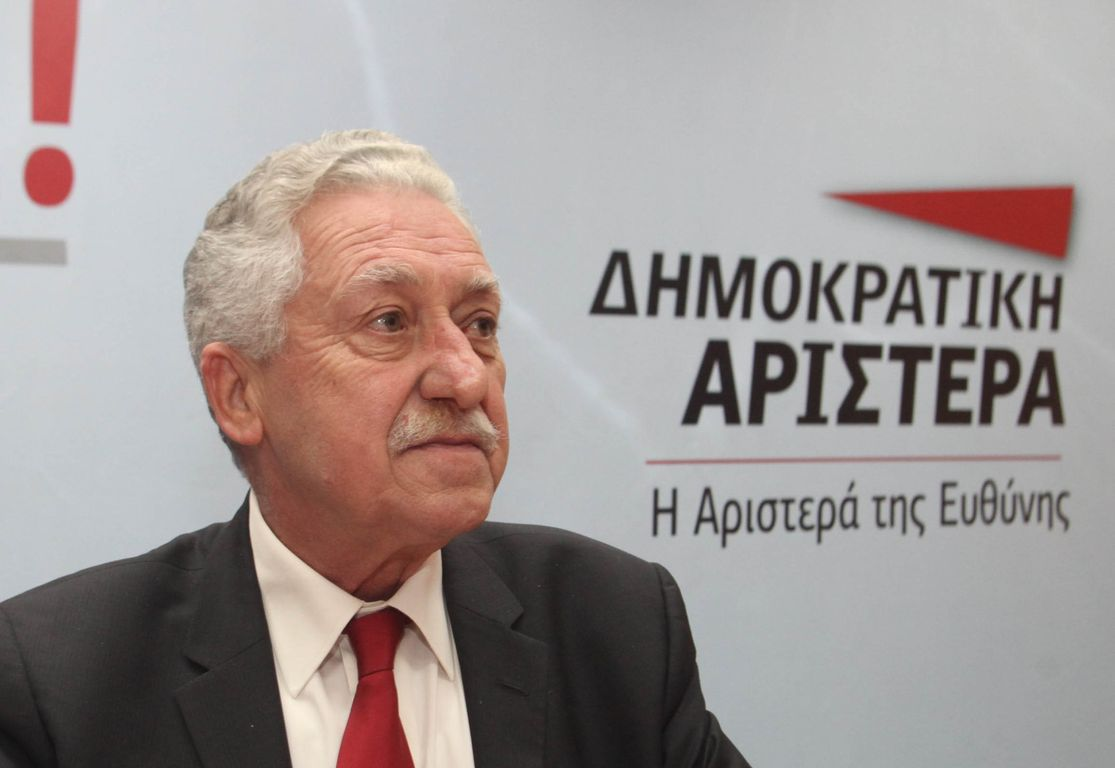 "Kouvelis: ""I have not received a proposal for the Presidency of the Republic"""