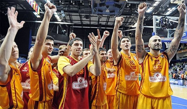 FYROM's basketball national team qualifies for Eurobasket 2015