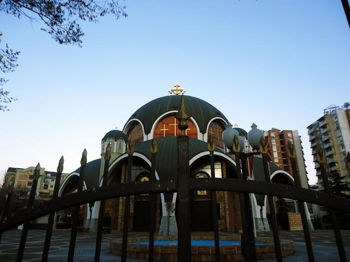 Orthodox believers celebrate St. Mary