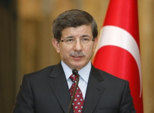 Davutoglu was elected president of the AKP