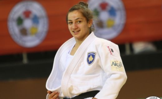 Majlinda Kelmendi becomes world champion again