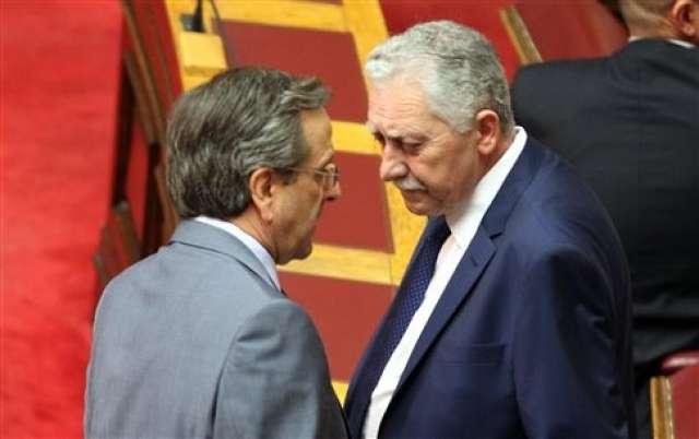 Fotis Kouvelis is Samaras' option for the Presidency