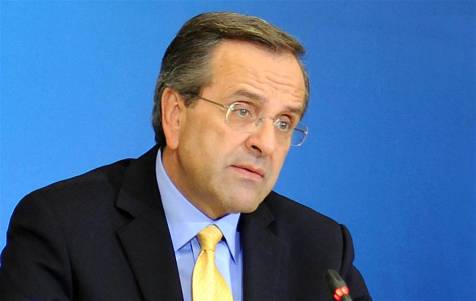 Antonis Samaras: Greece is an 'island of stability'