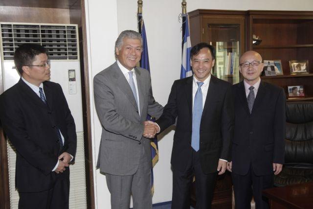 Chinese interest in Greek shipyards