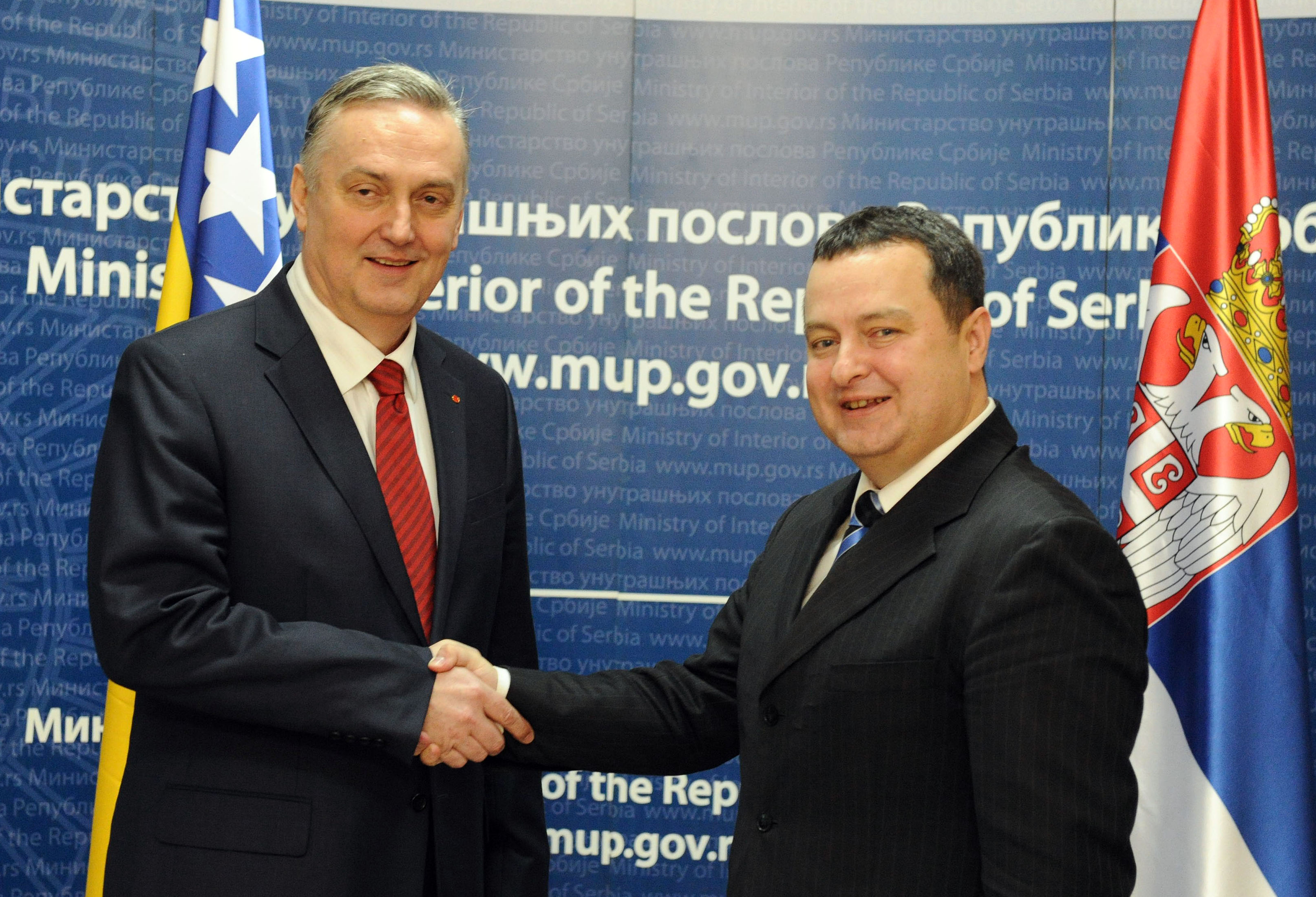 Serbia and Bosnia 'a model for regional cooperation'