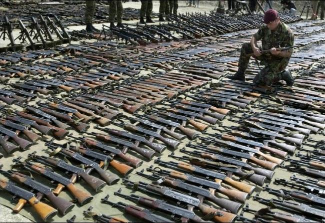 Albania donates Iraq 22 million cartridges, shells and grenades, 10 thousand Kalashnikovs to Afghanistan