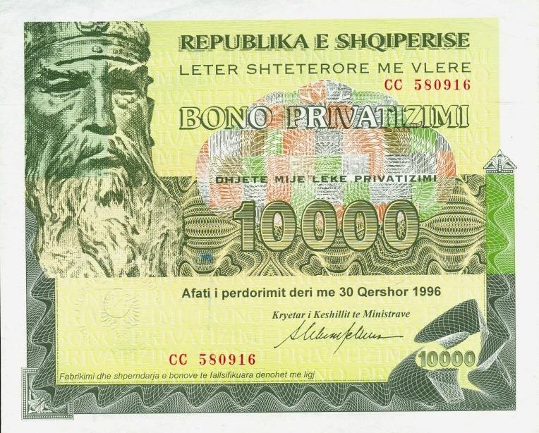 A new procedure to simplify the purchase of bonds and bills in Albania