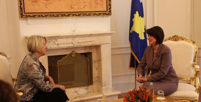 Jahjaga: Voluntaries strengthen the relations with the US