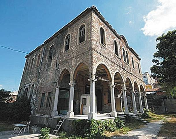 The bells at the Church of St. Voucolos in Izmir ring again