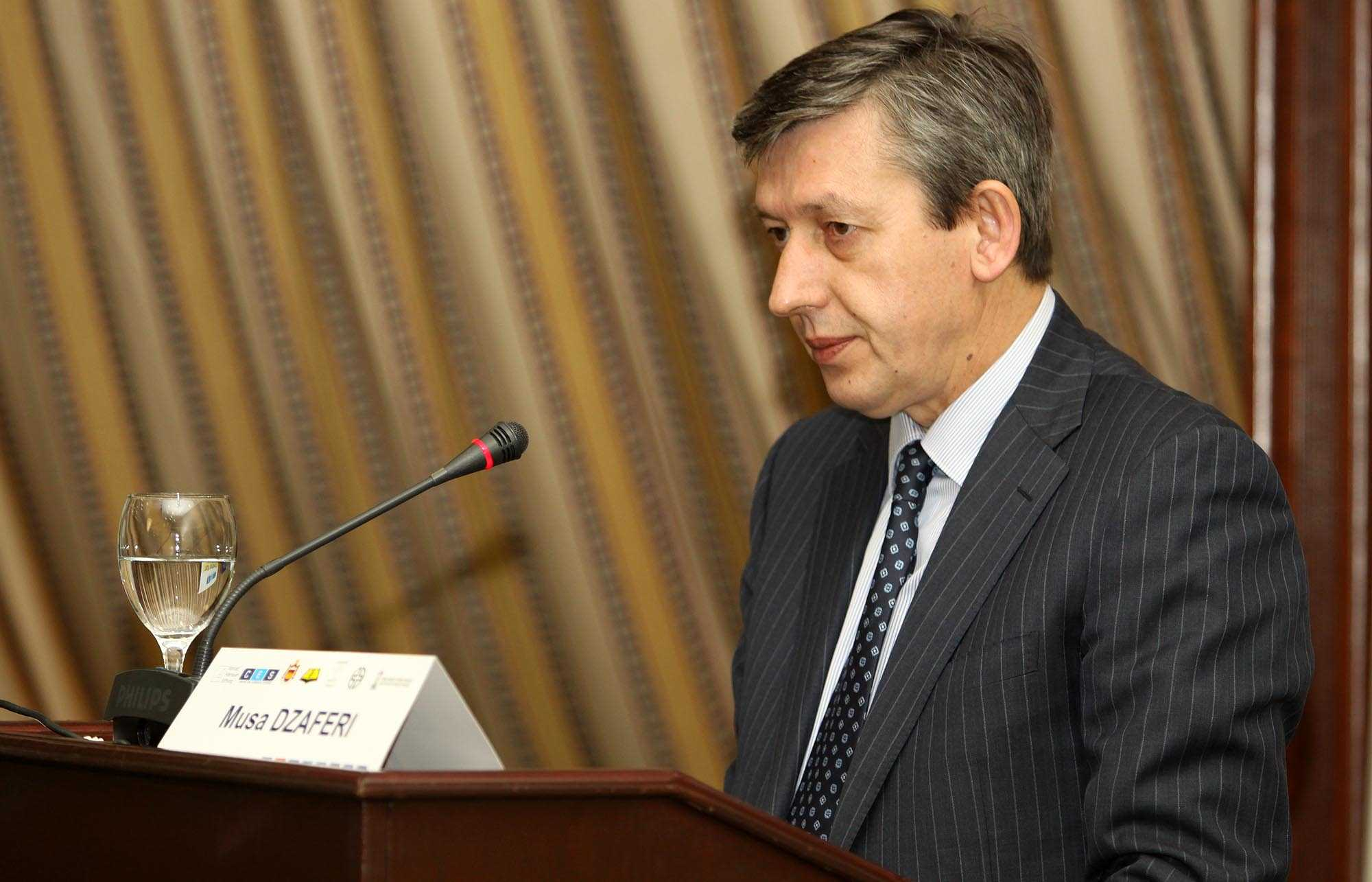 Xhaferi: Macedonians are reserved for the implementation of the Ohrid Agreement