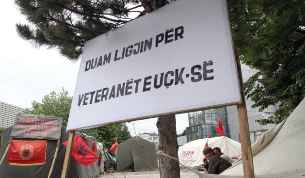 NLA veterans demand their status 13 years after the conflict in FYROM