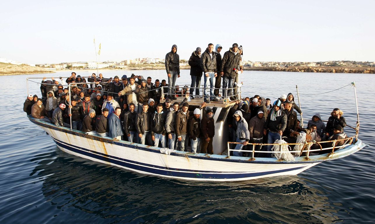 The influx of illegal immigrants to Greece is increasing