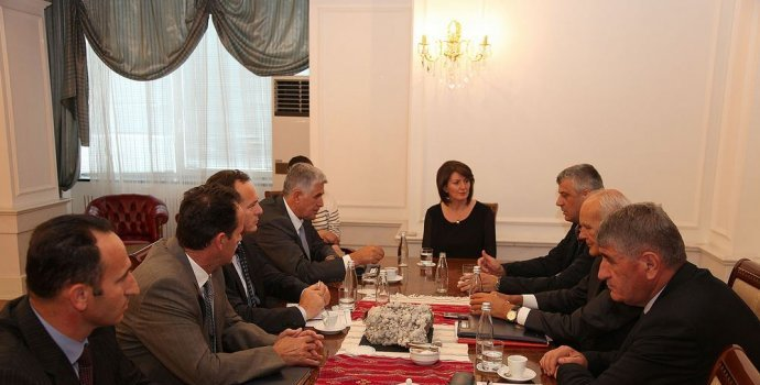 President of Kosovo meets heads of security agencies