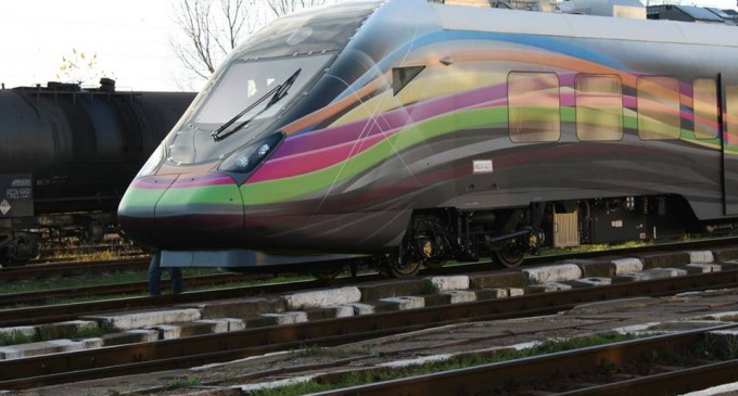 Romania puts its first bullet train into operation