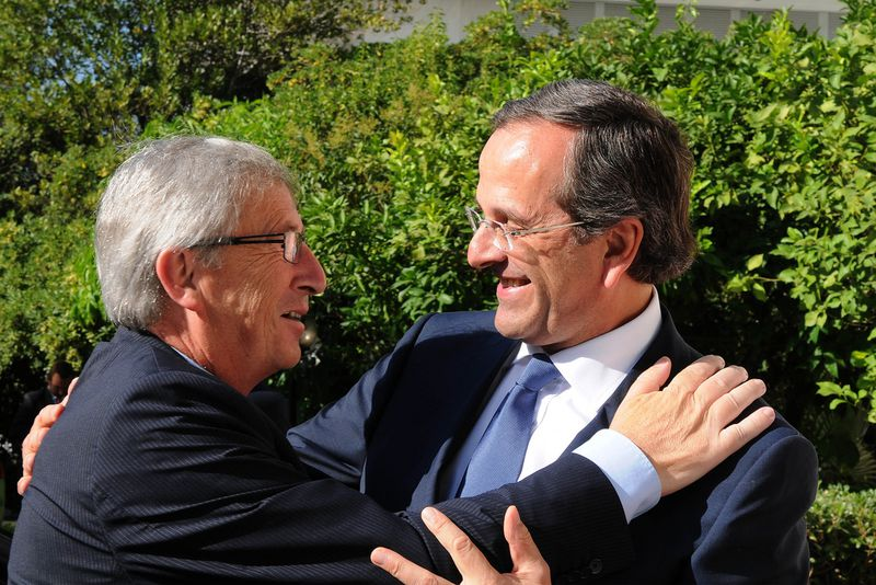 Juncker will be in Athens on Friday