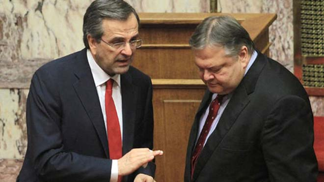 Samaras-Venizelos meeting to take place on Wednesday in heavy climate