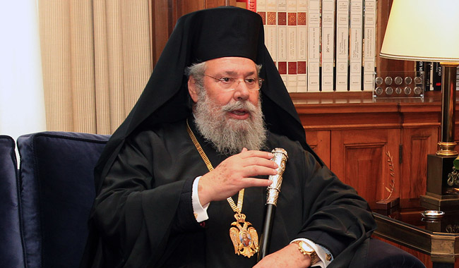 Cyprus will soon escape from the economic downturn, says Archbishop
