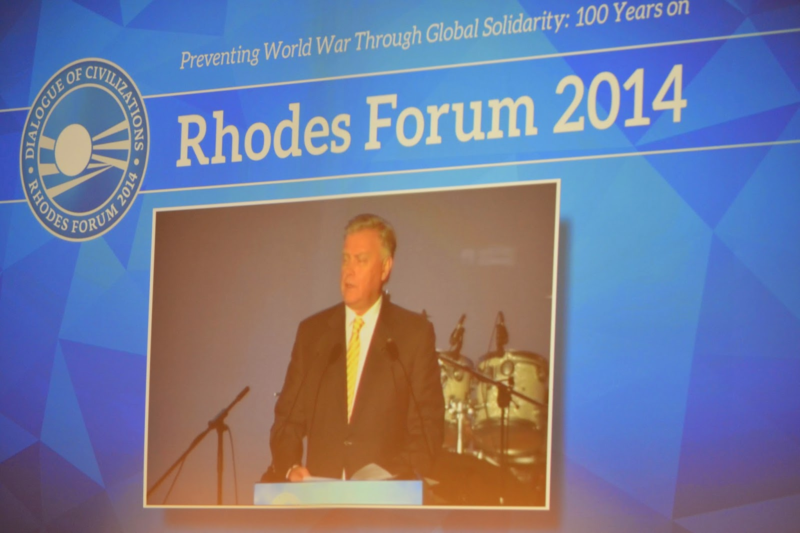 Works have begun on 12th Rhodes Forum – Dialogue of Civilizations