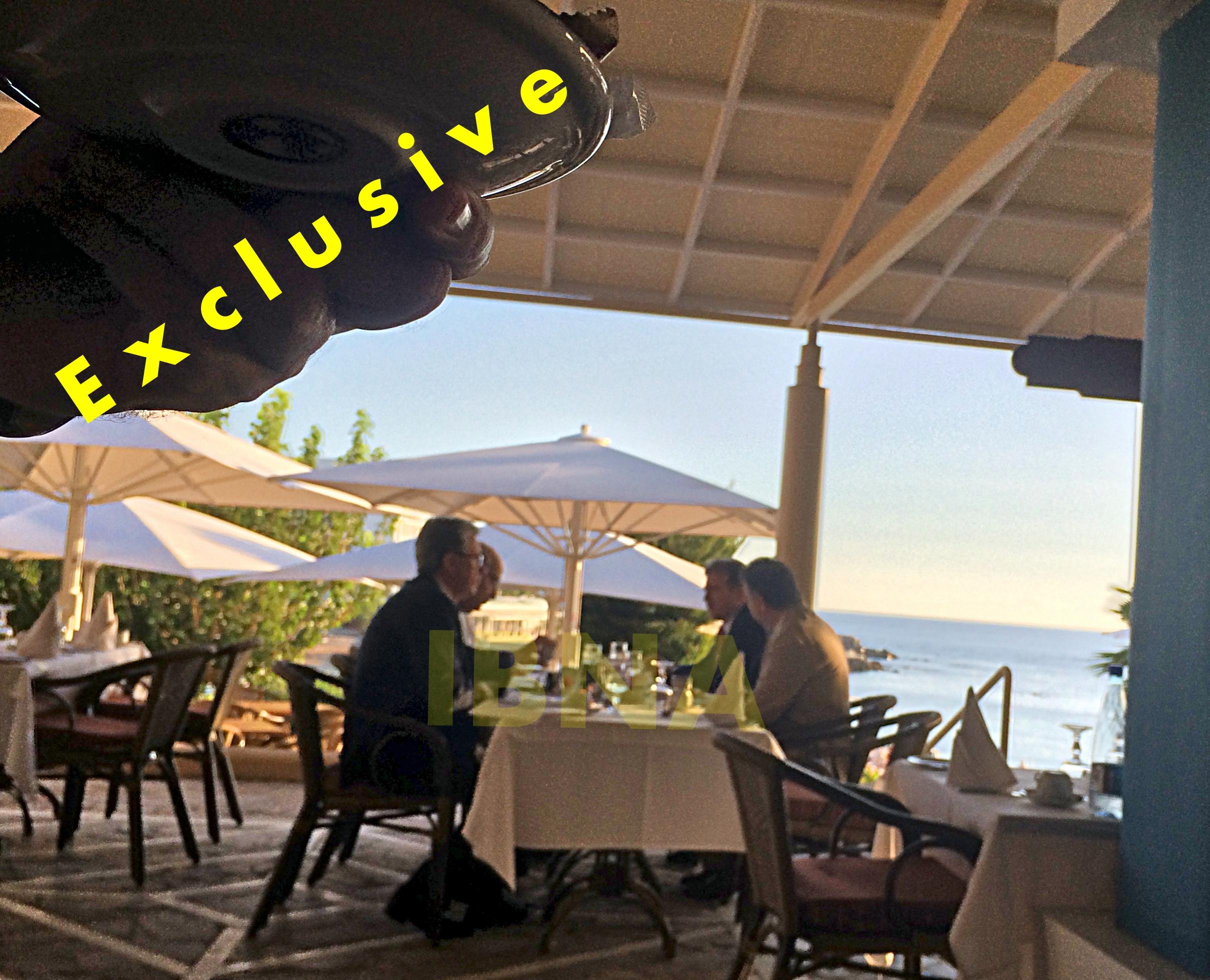 Meeting Chrysohoides-Yakunin in Rhodes