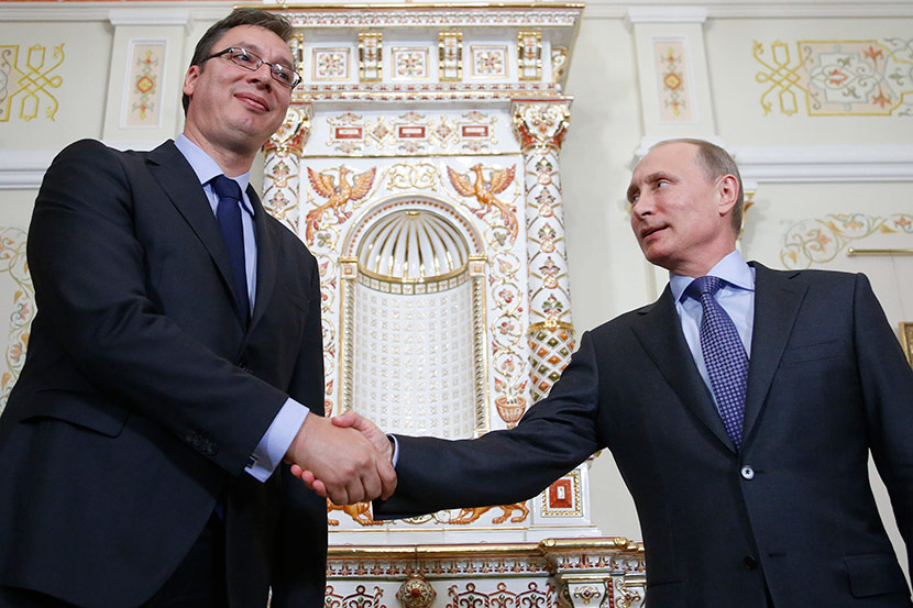Vucic will not attend Pride, expects Putin in Belgrade