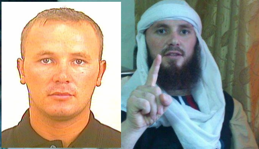 An Albanian in the USA's terrorists most wanted list