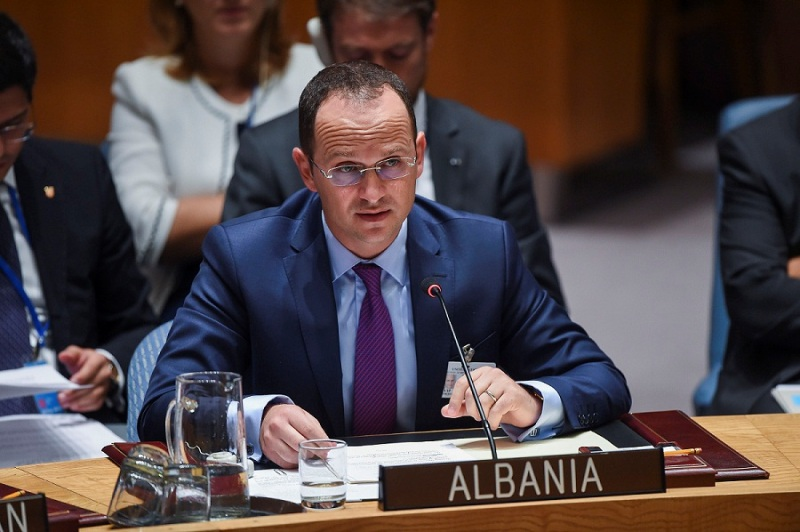 Terrorist fighters pose a threat to their countries of origin, says Albanian Foreign Minister at the UN