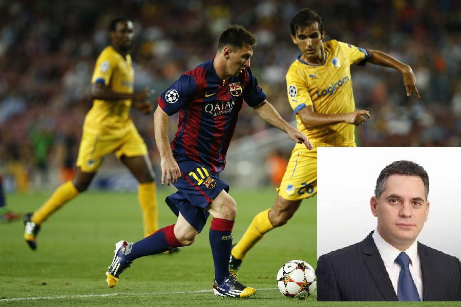 Finance Committee President criticized for attending BARCELONA – APOEL instead of bill discussion!