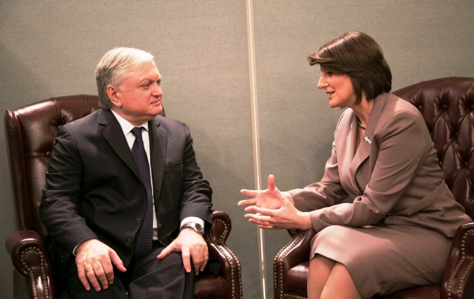 President Jahjaga demands the recognition of Kosovo by Armenia