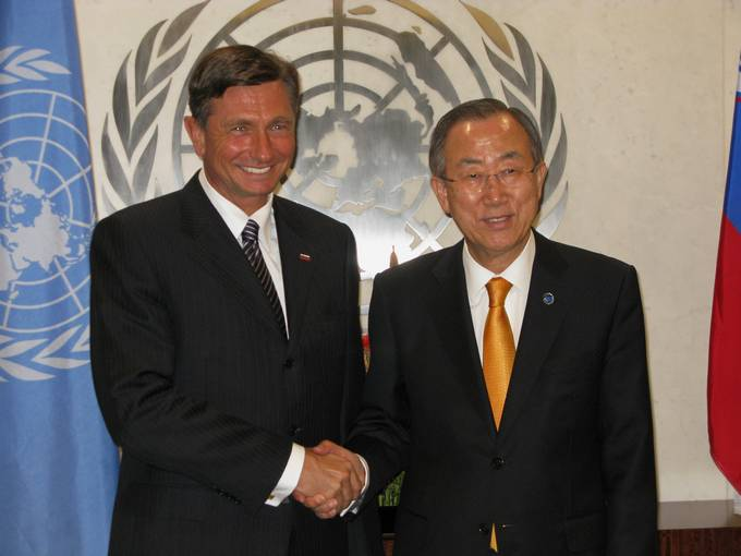 Ban Ki-Moon praises Slovenia for its role in Western Balkans
