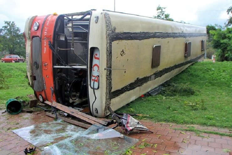 Skopje, 49 wounded in a bus accident